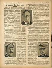 US Navy Daniels Minister of Marine/Kigali Rwanda Belgique Colonie Kivu 1917 WWI