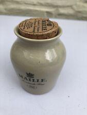 Maille Ceramic Mustard Jar 11cm Height