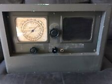 "VINTAGE R-100/URR WWII Military Radio Receiver ""The Morale Builder"""