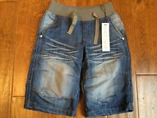 NWT MARKS & SPENCER DENIM JEANS SHORTS - 6 YEARS