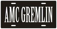 American Motors AMC Gremlin License plate
