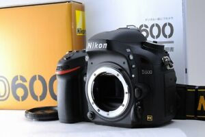 [68 shots only! TOP Mint in Box] Nikon D600 24.3 MP Digital SLR DSLR Japan C149