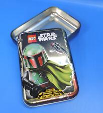 Lego Star Wars Caja de Lata Boba Fett Cartas Coleccionables Aumentador Presión