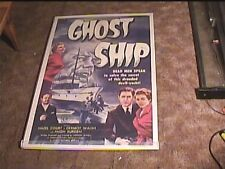 GHOST SHIP 1955 ORIG MOVIE POSTER HORROR