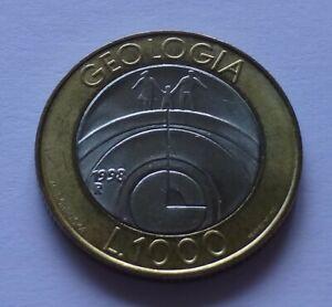 San Marino 1000 Lire 1998, Geology - Child of the Universe