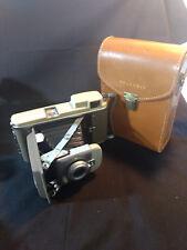 Old Vtg Collectible Polaroid Land Camera Model 80A W/ Case Made In USA