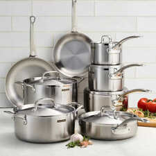 Tramontina Tri-Ply Clad 14 Piece Cookware Set 18/10 Stainless Steel