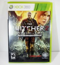 THE WITCHER 2 ASSASSINS OF KINGS ENHANCED EDITION XBOX 360 VIDEO GAME I-11187