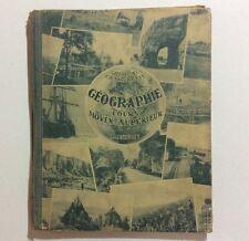 Livre Manuel Scolaire GÉOGRAPHIE Cours Moyen Superieur Gallouedec Maurette 1933