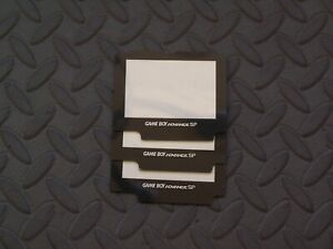 3 X Game Boy Advance SP  Plastic Protective Lens Screen Cover