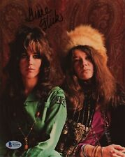GRACE SLICK 8x10 Photo Signed Autographed Auto BAS Beckett Jefferson Airplane