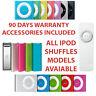 Apple iPod Shuffle 1st 2nd 3rd 4th Generation - Blue Silver Pink Black Purple