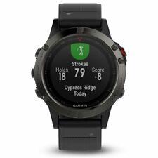 Garmin Fenix 5 Pizarra Gris Con Negro Banda Multideporte GPS Reloj 010-01688-00