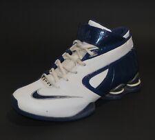 NIKE SHOX Elite 2007 Basketball Shoes Mens Size 7.5 Blue White