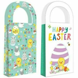 EASTER TREAT BAGS 4 FOR EGGS SWEETS TREATS