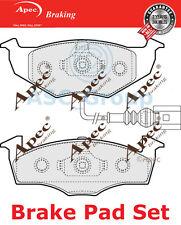 Apec Vorne Brems Scheiben Satz OE Qualität Ersatzteil mit Blinker Pad1406