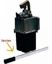 Levier de pompe hydraulique manuelle remorque