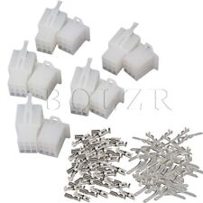 9 Pin 2.8mm Connector Terminals For Scooter Moped Electric Bike Ebike 5 Sets