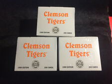 1990 Clemson Collegiate Collection Trading Cards Set 200 cards William Perry