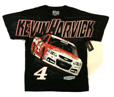 NWT XL Chase Authentics Kevin Harvick Red Black All Over Total Print T-Shirt