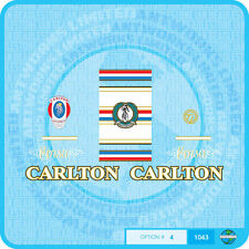 Carlton Corsa Bicycle Decals - Transfers - Stickers - Set 4