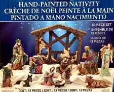 Kirkland Signature 13 Piece Tabletop Christmas Nativity Set ~Free Delivery~