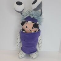 "Monsters University Inc Boo in Costume 12"" Plush Stuffed Doll Disney Store Pixar"