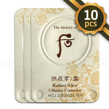 [The history of Whoo] Radiant White Ultimate Corrector 10pcs Newest