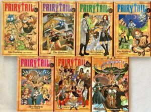 (SHP) Fairy Tail Graphic Novel Anime Manga Collections by Hiro Mashima Vols 1-7
