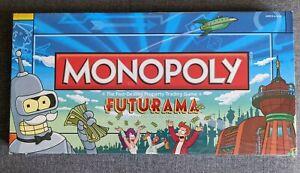 Rare FUTURAMA Monopoly collector's edition board game NEW SEALED