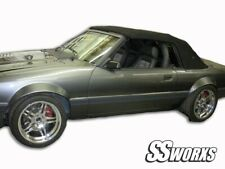 SSworxs Ford Mustang Fender Flares 79-93 ALL Models Fender Flares