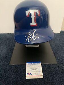 Joey Gallo Signed Texas Rangers Full Size Batting Helmet PSA/DNA