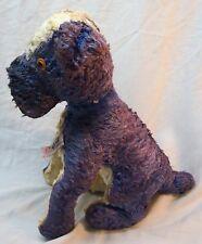 "ANTIQUE 1940's VINTAGE GUND  STIFF BULLDOG DOG 11"" STUFFED ANIMAL Toy"