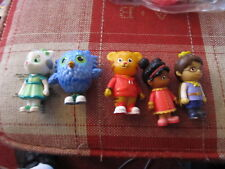 Daniel Tiger lot of 5 figures Owl Prince more