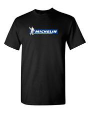 Michelin Tire Company Automotive Auto Moto Super Car Black T-Shirt