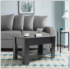 Lift Up Coffee Table Modern Living Room Black Table With Storage Home Furniture