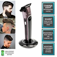 NEW HAIR CLIPPER CORDLESS WATERPROOF RECHARGEABLE  GROOMING HAIR TRIMMER BEARD