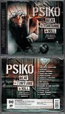 "PSIKO ""Beat + Torture + Kill"" (CD) 2010 NEUF"