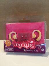 "Nib My Life As 2 Doll Hearing Aids Earrings Opaque Tube Fits 18"" American Girl"