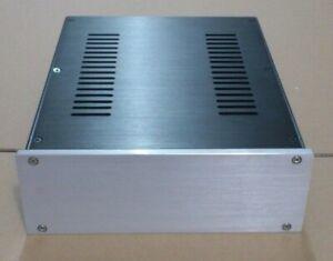 Aluminium Enclosure x2 for Hifi Amplifier DAC or Electronics DIY Projects