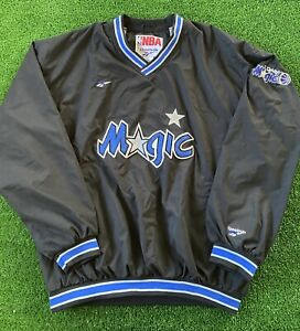 Vintage Reebok Orlando Magic Pullover Jacket Windbreaker Shaq Men's Size XXL 90s