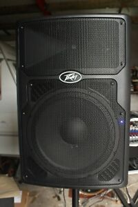 Peavey PVXp DSP 15 Active Speaker With Plug PA Equipment Professional Sound