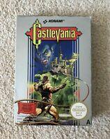 Castlevania - Nintendo NES - Boxed CIB PAL A + Box Protector  Lot C - great copy