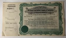 Never Issued Orange Crush Bottling Chattanooga Preferred Stock Certificate