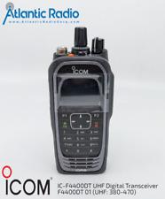 Icom Ic-F4400Dt Uhf Digital Transceiver F4400Dt 01 (380-470) Idas Hh full keypad