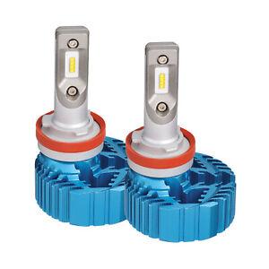 Narva H8 H9 H11 12/24V LED Headlight Conversion Kit 5700K BONUS Parking LED L...