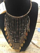 Lucky Brand Collar Beaded Statement Necklace Nwt Orig $49