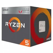 Cpu AMD Ryzen 5 AM4 2400g 3.6ghz - 3.9ghz Quad Core 2MB 4
