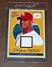 2004 Fleer Platinum Portraits Game Jersey Albert Pujols