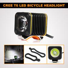 T6 CREE LED USB BICYCLE LIGHT FRONT BIKE HEADLIGHT CYCLING WARNING FLASHING LAMP